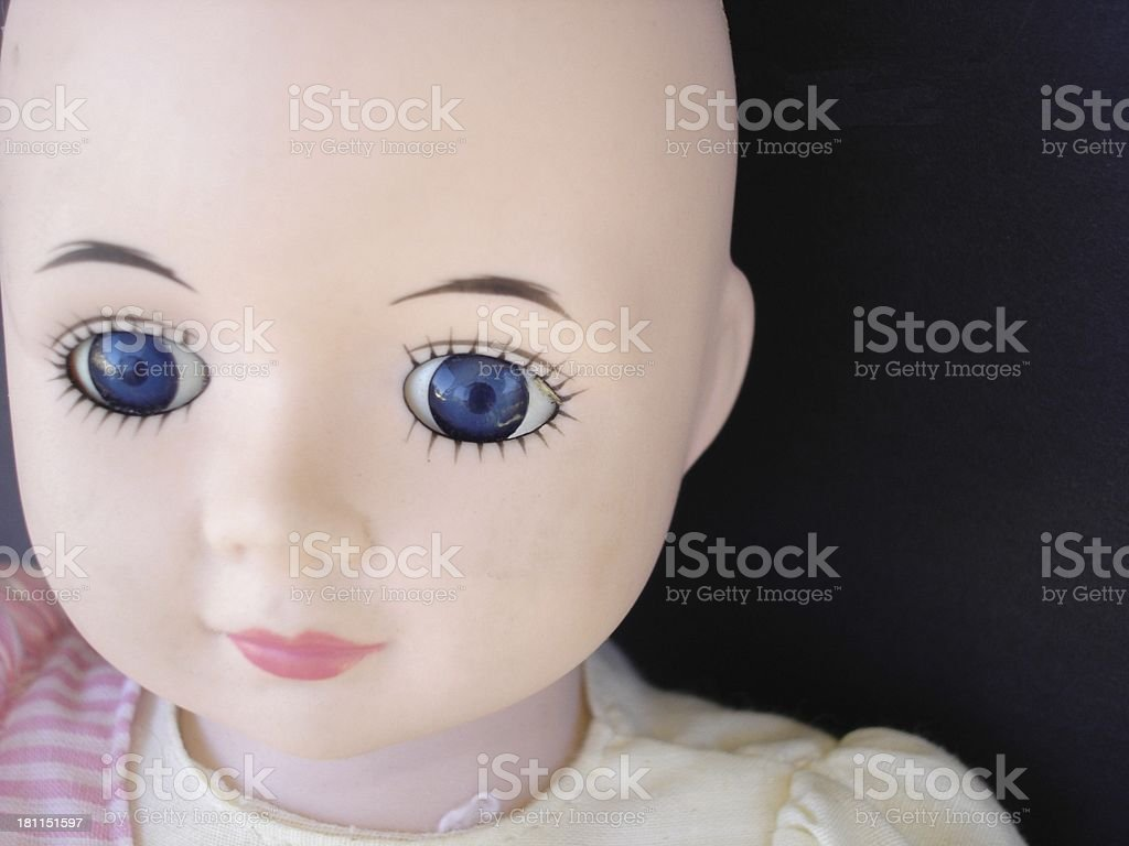 Dollface Two stock photo