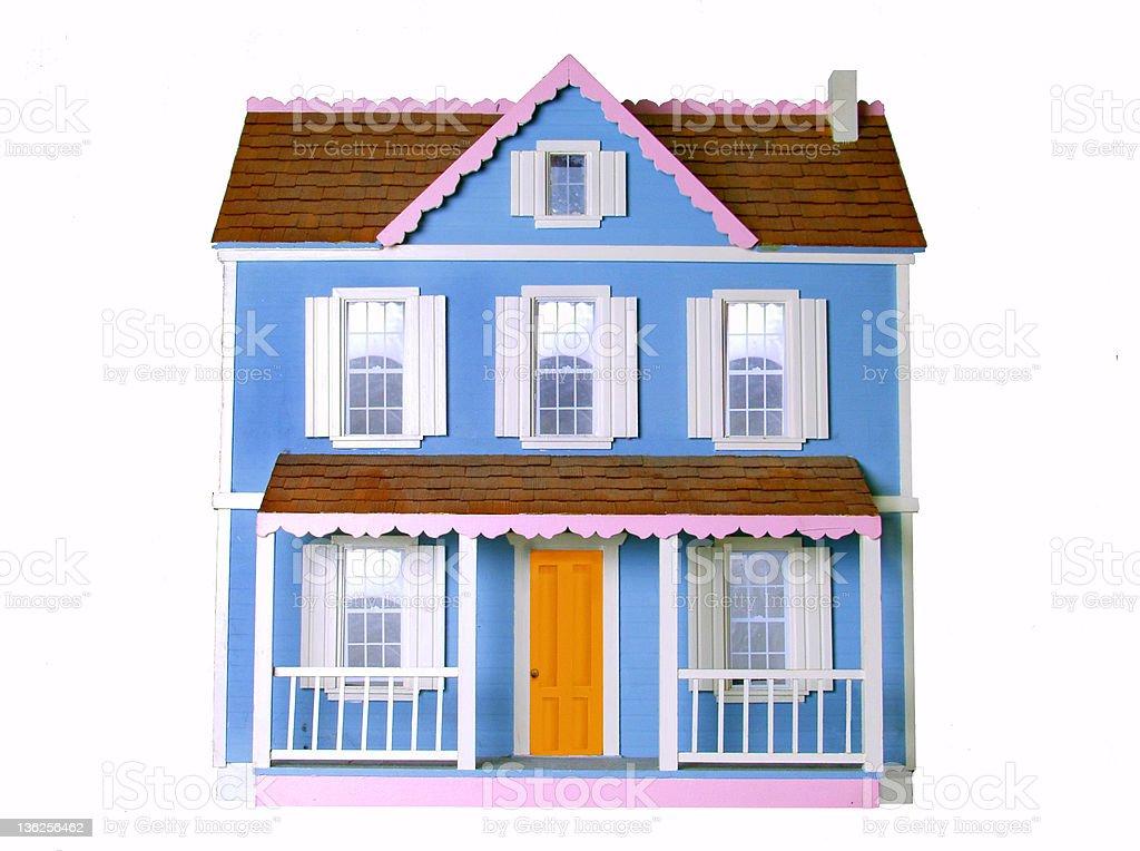 dollhouse stock photo