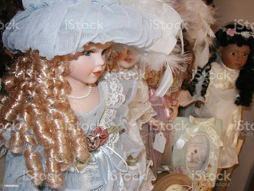 Dolls - Antique stock photo