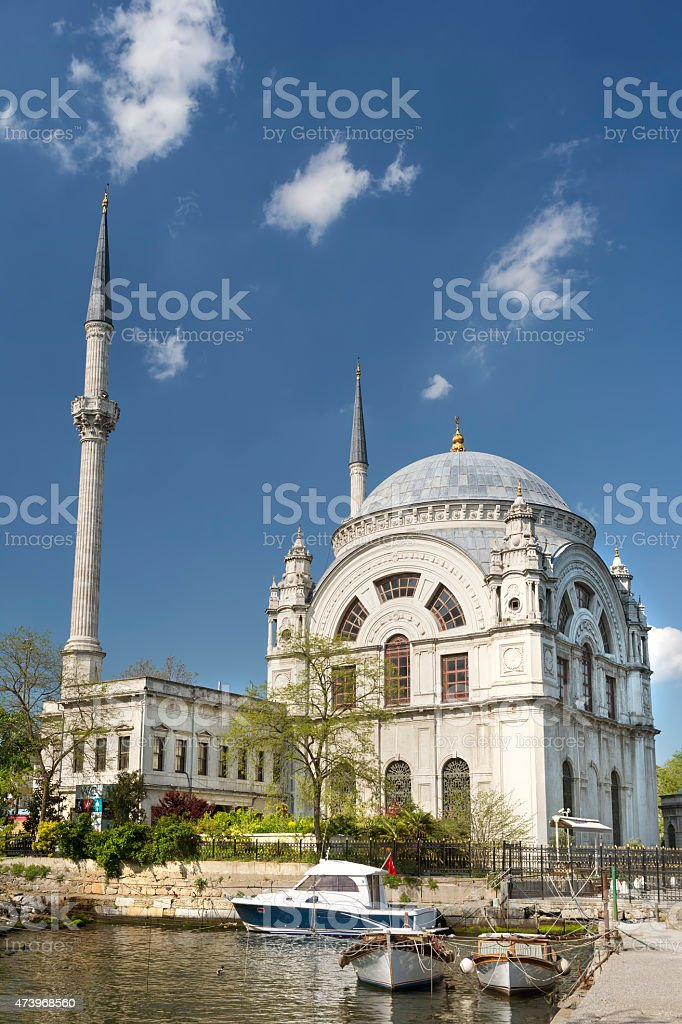 Dolmabahce Mosque, Istanbul, Turkey stock photo