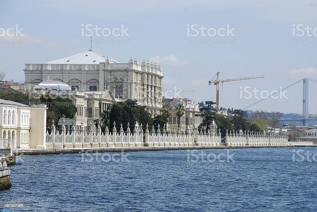 Dolmabahce palace royalty-free stock photo