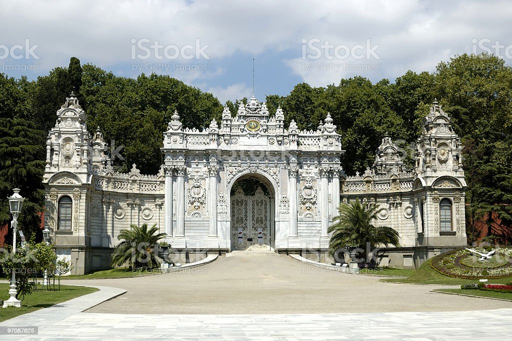 Dolmabahce stock photo