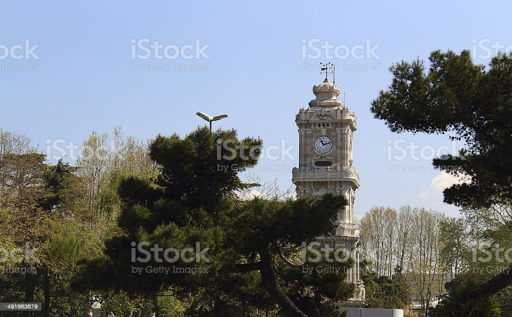 Dolmabah?e Clock Tower stock photo