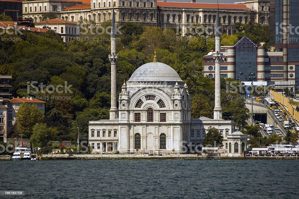 Dolmabahçe Mosque royalty-free stock photo