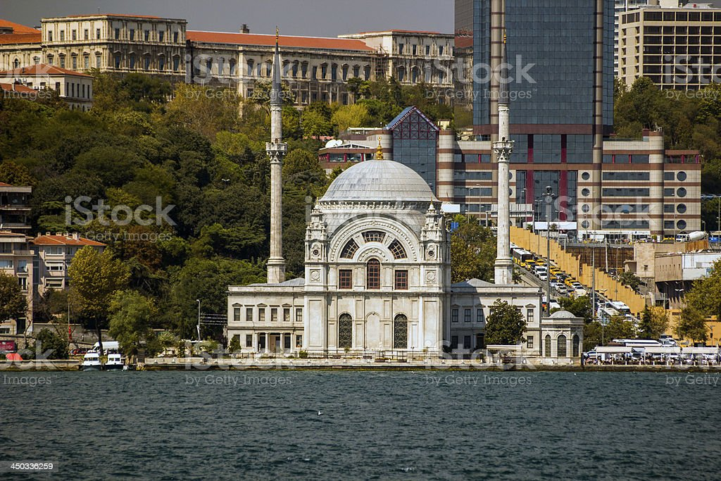 Dolmabah?e Mosque royalty-free stock photo