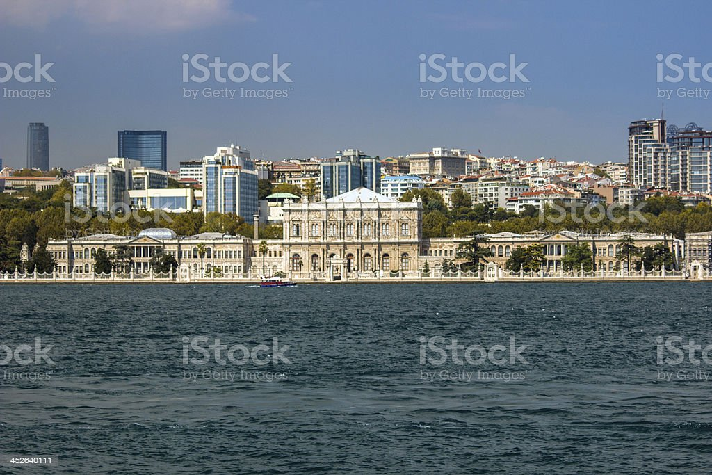 Dolmabah?e Palace royalty-free stock photo