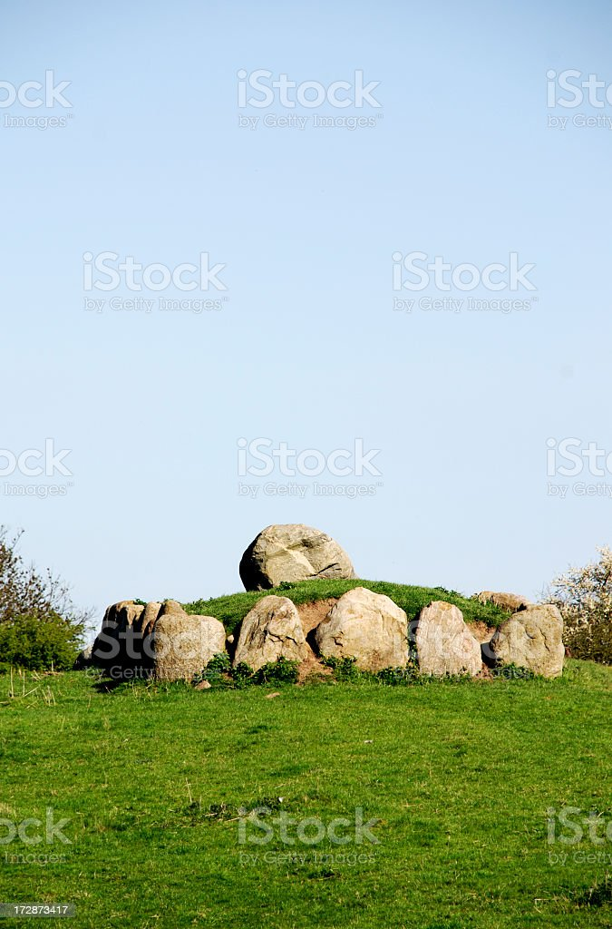 Dolmen royalty-free stock photo
