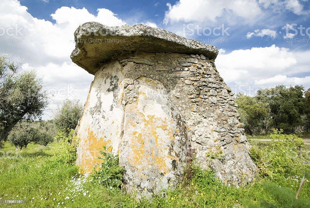 Dolmen (Anta Do Pombal) stock photo