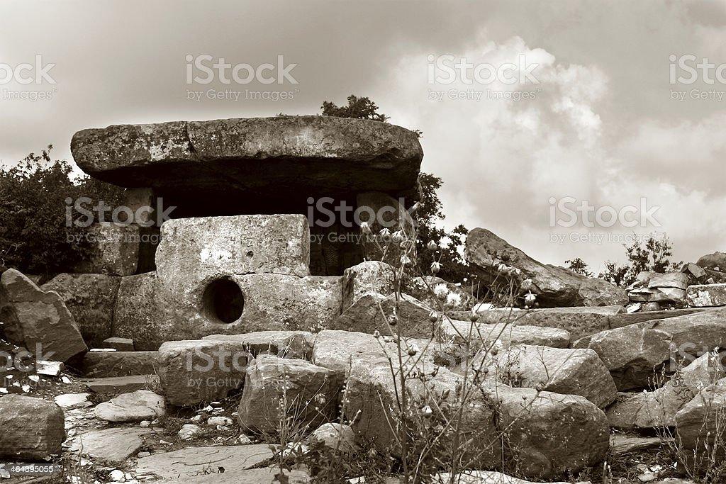 Dolmen royalty-free stock photo