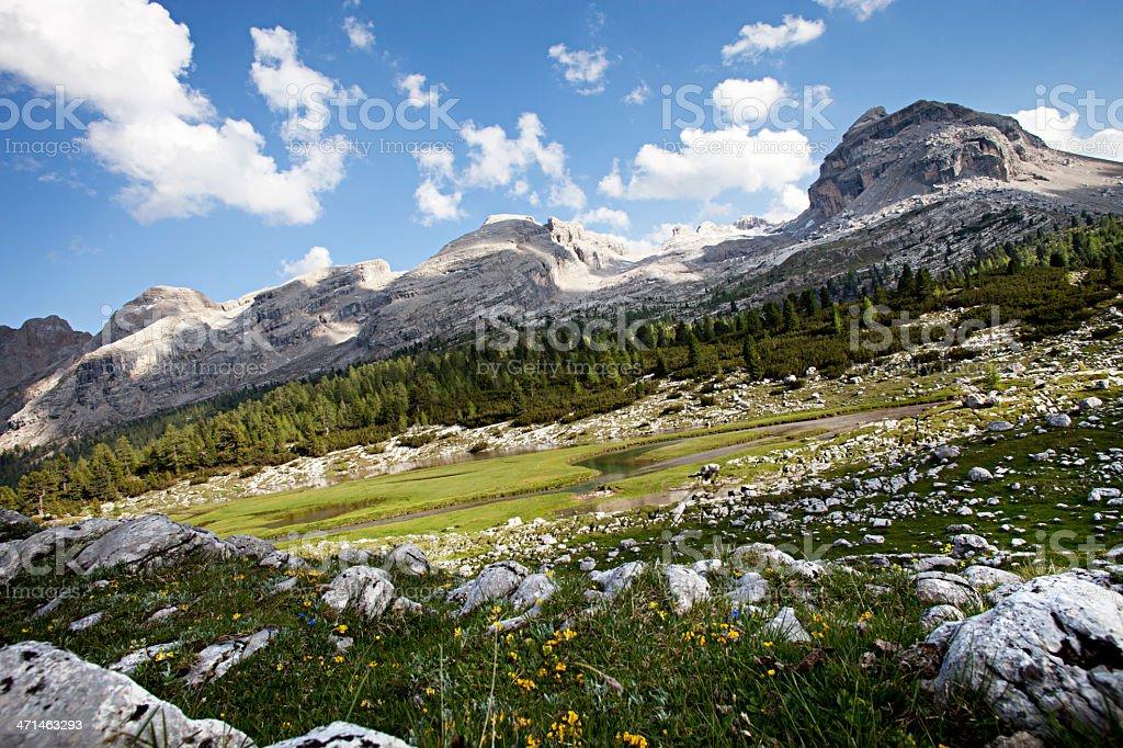 Dolomite Mountains - Alps royalty-free stock photo