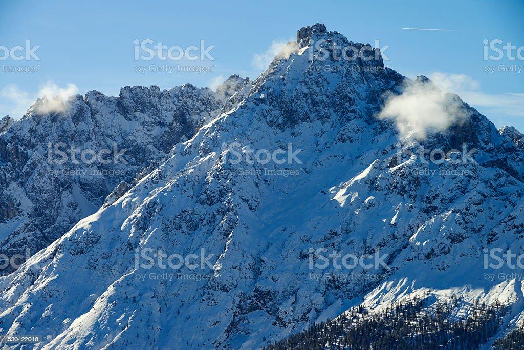 Dolomite Peak stock photo