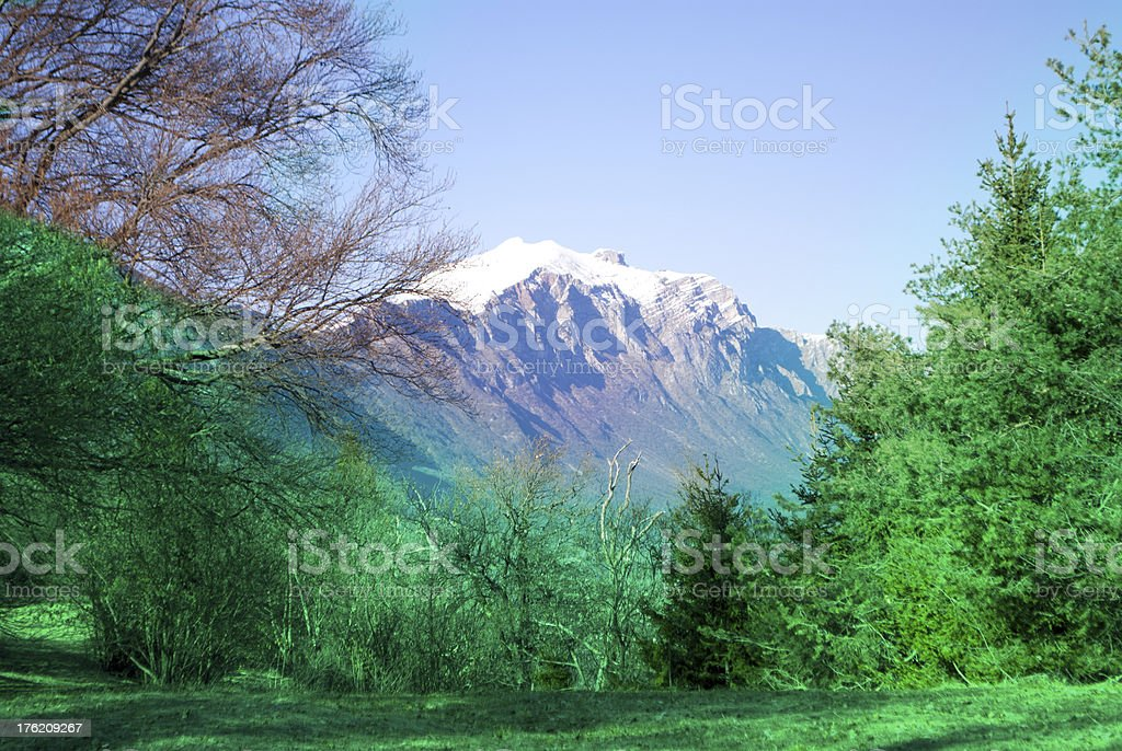 Dolomite royalty-free stock photo