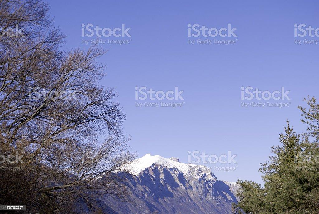 Dolomite royalty-free stock photo