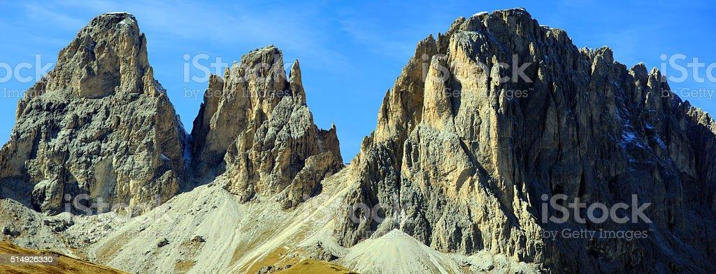 Dolomiten Panorama stock photo