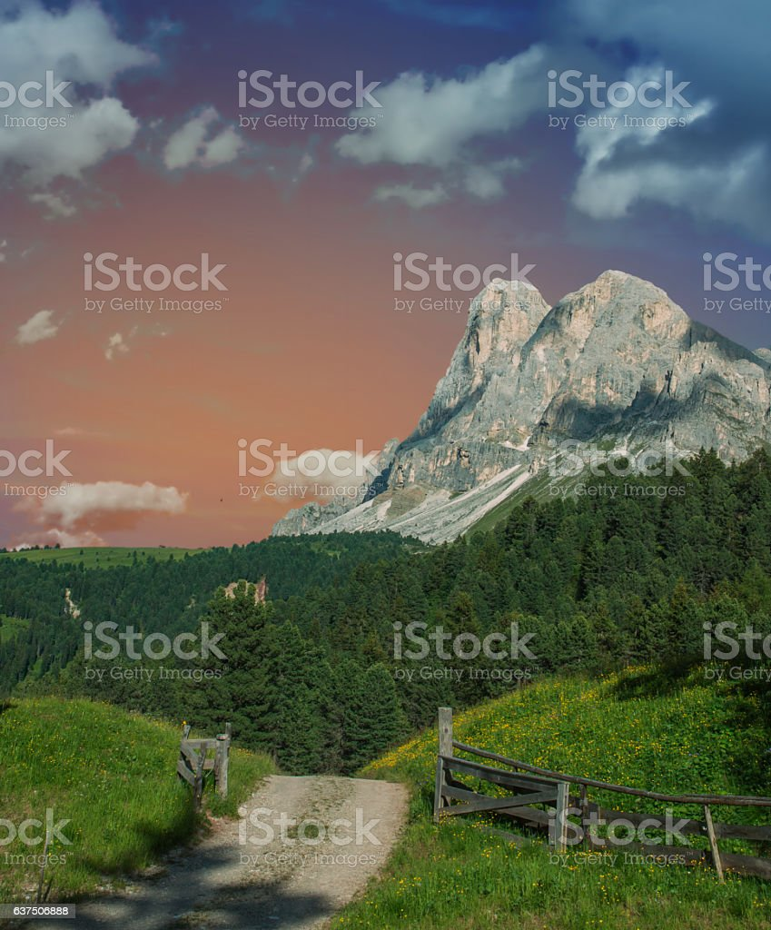 Dolomiten stock photo
