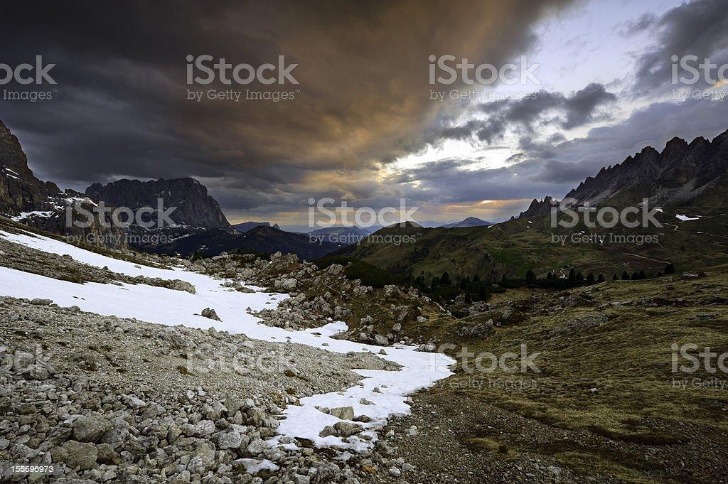 Dolomites, Alps stock photo