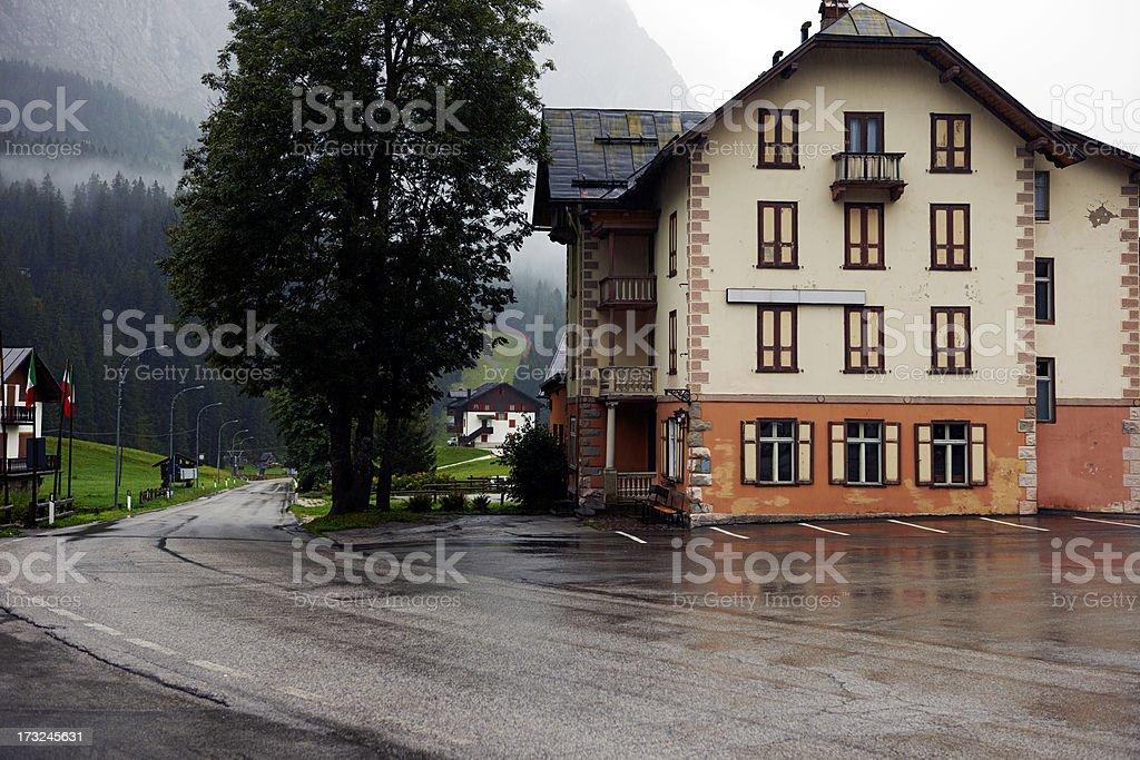 Dolomites. Color Image stock photo