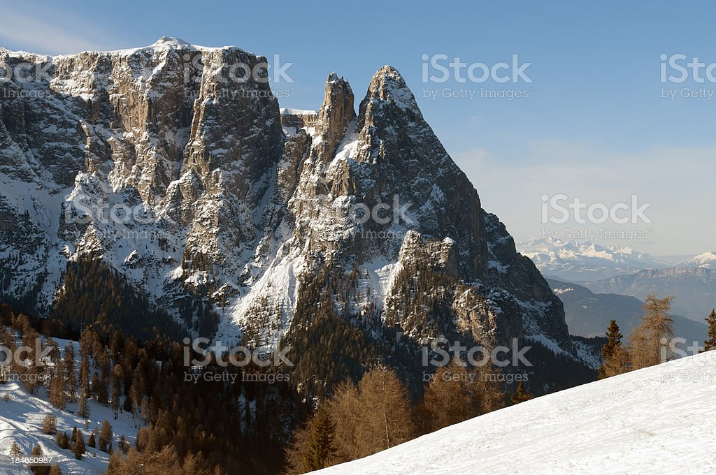 Dolomites, Italian Alps royalty-free stock photo