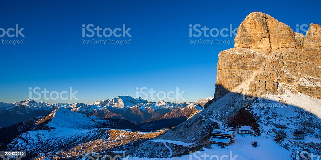 Dolomites, Italy stock photo