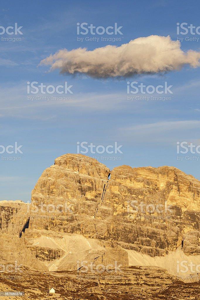 Dolomites mountains royalty-free stock photo