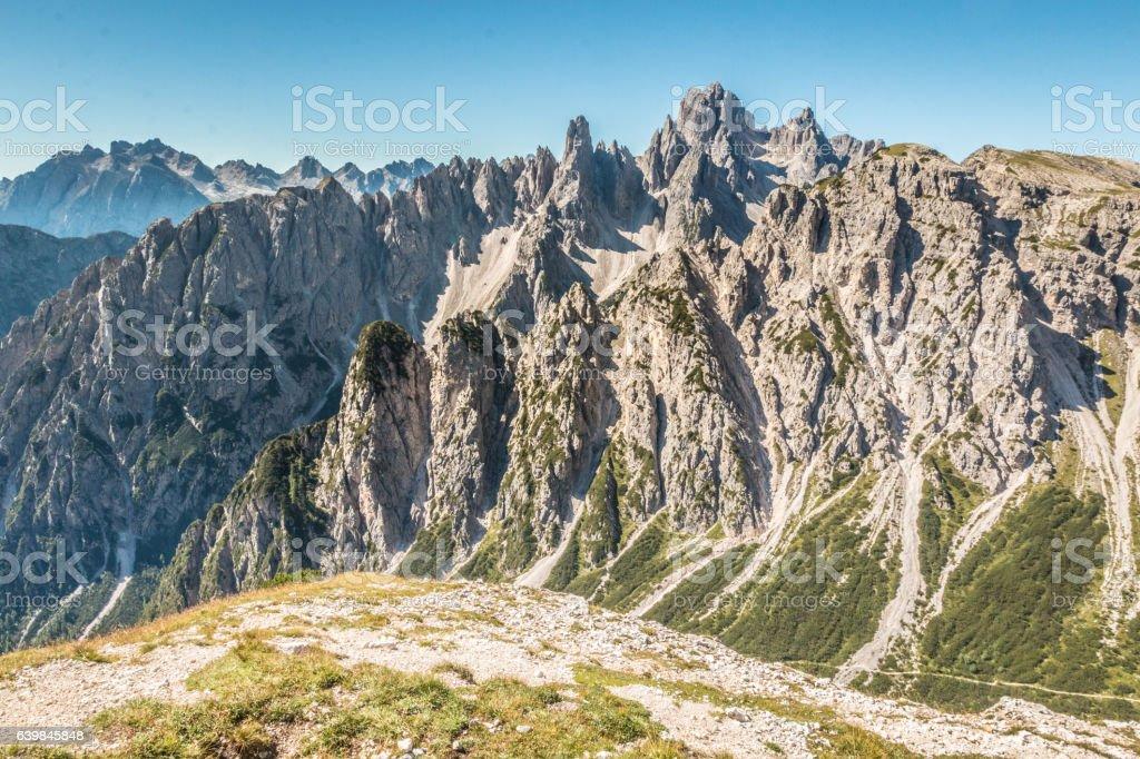 Dolomites Mountains stock photo