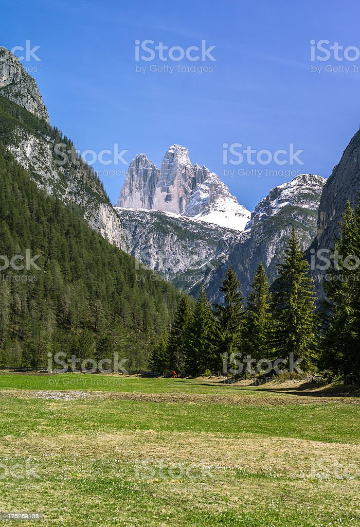 Dolomites royalty-free stock photo