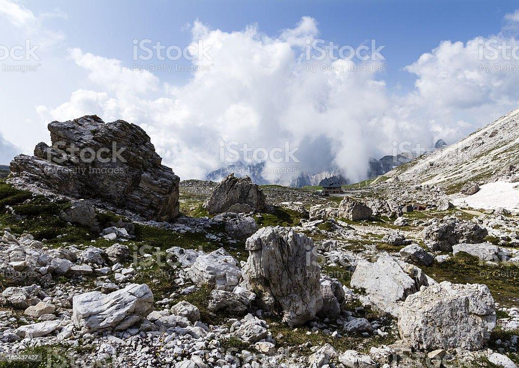 Dolomites, Veneto, Italy royalty-free stock photo