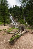 Dolomites waterfalls (Val di Fassa)