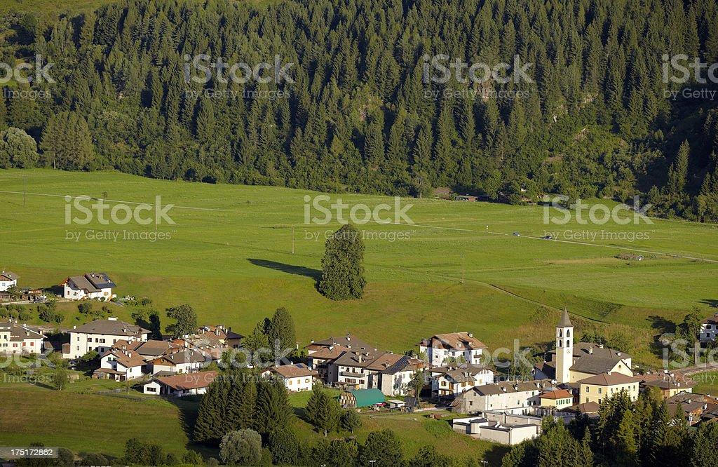 Dolomiti. Color Image stock photo