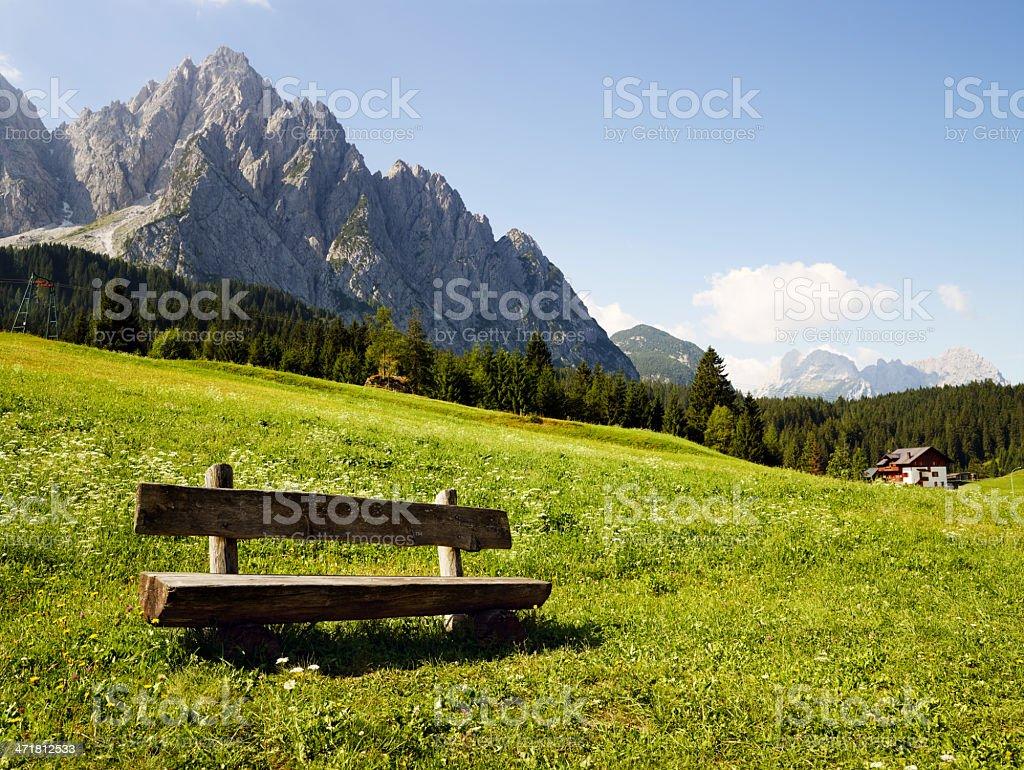 Dolomiti. Color Image royalty-free stock photo