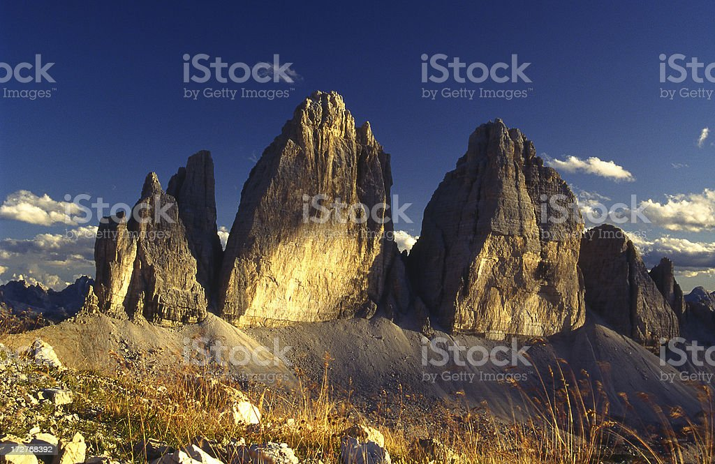 Dolomiti. Italy royalty-free stock photo