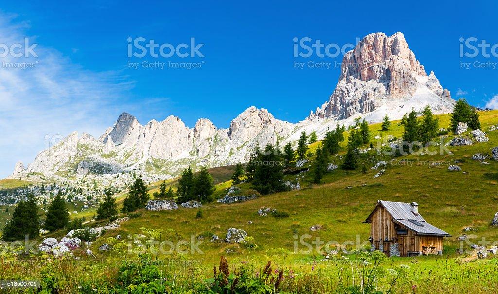 Dolomiti Italy stock photo