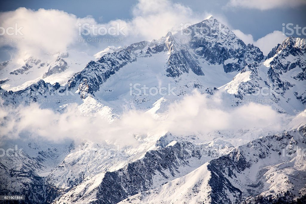 Dolomiti mountains stock photo