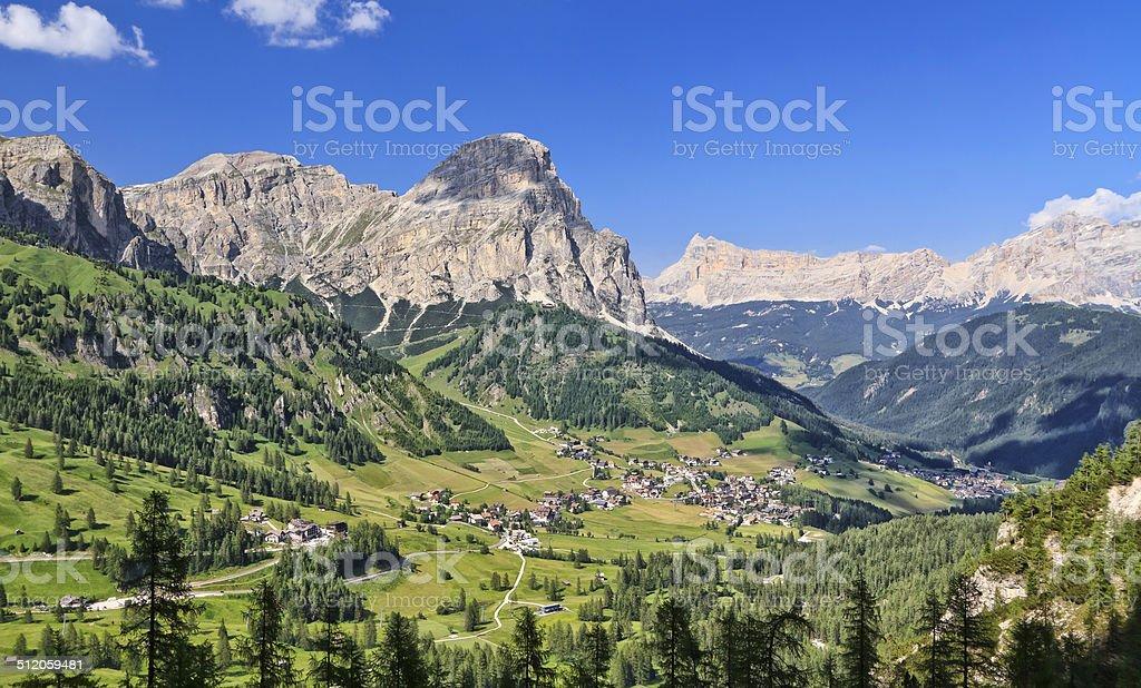 Dolomiti - Val Badia stock photo