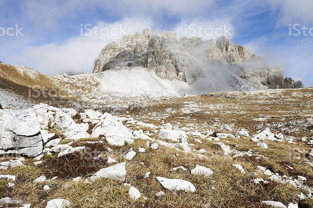 Dolomitic Mountain royalty-free stock photo