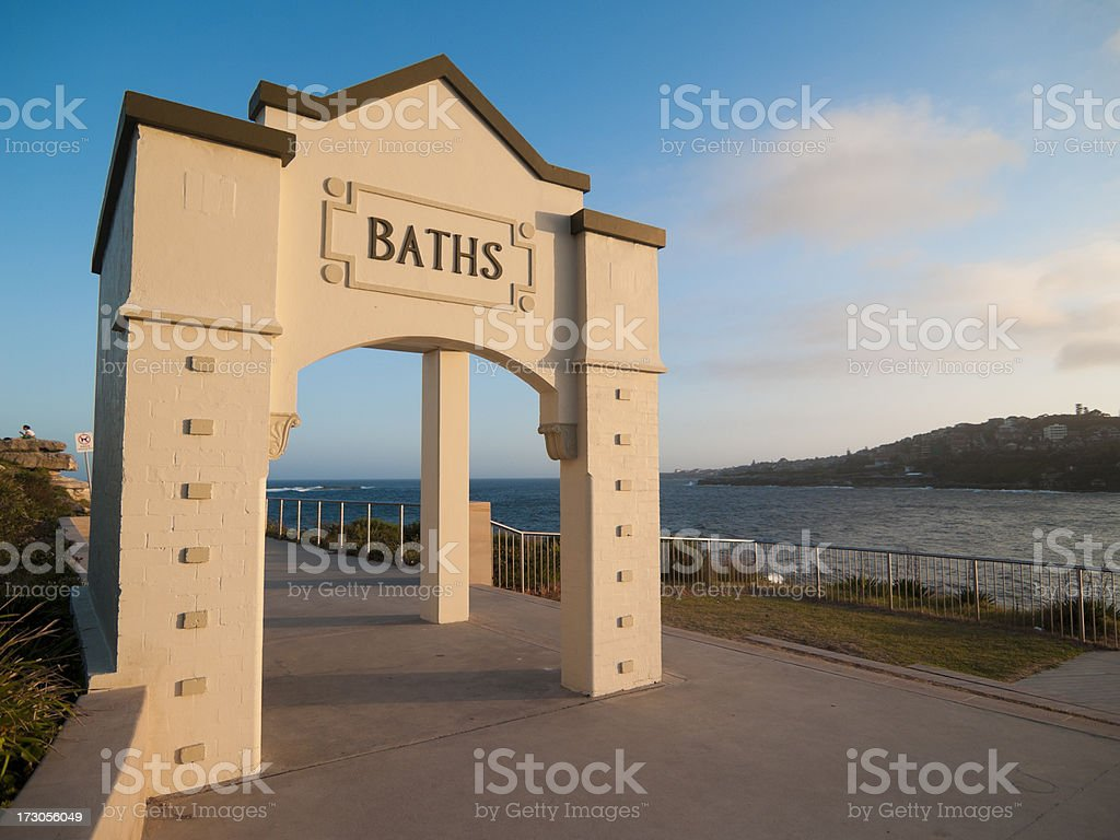 Dolphin Point Coogee royalty-free stock photo