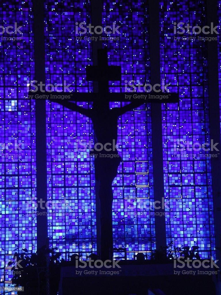 Dom Bosco church, Brasilia, Brasil stock photo