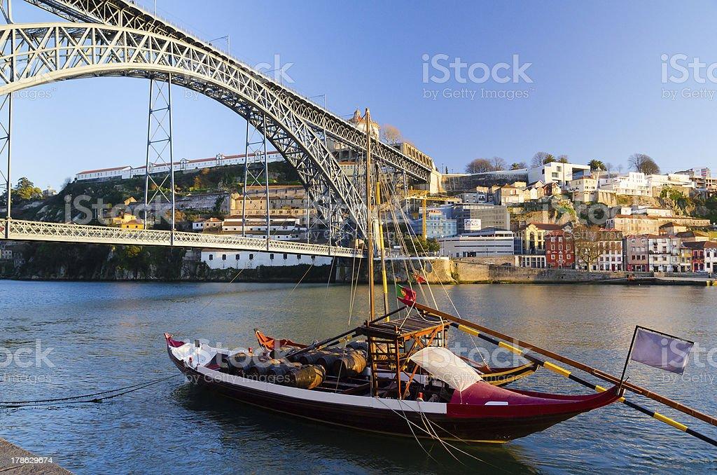 Dom Luis I bridge royalty-free stock photo