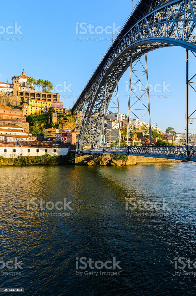 Dom Luis I bridge stock photo