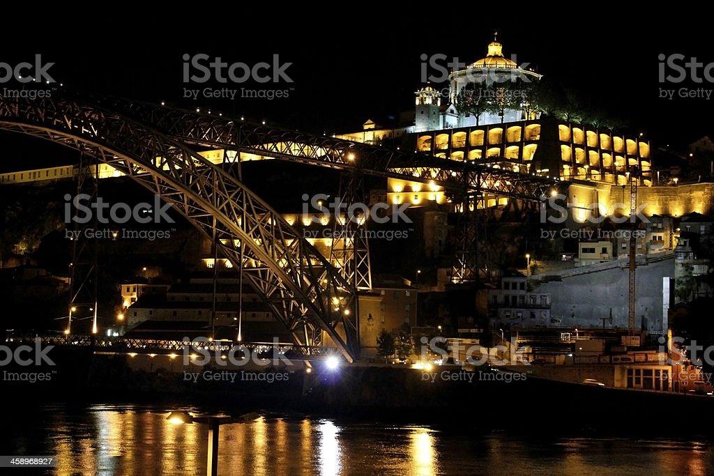 Dom Lu?s Bridge, Porto royalty-free stock photo