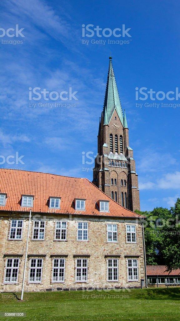 Dom of Schleswig in Schleswig-Holstein, Germany!! stock photo