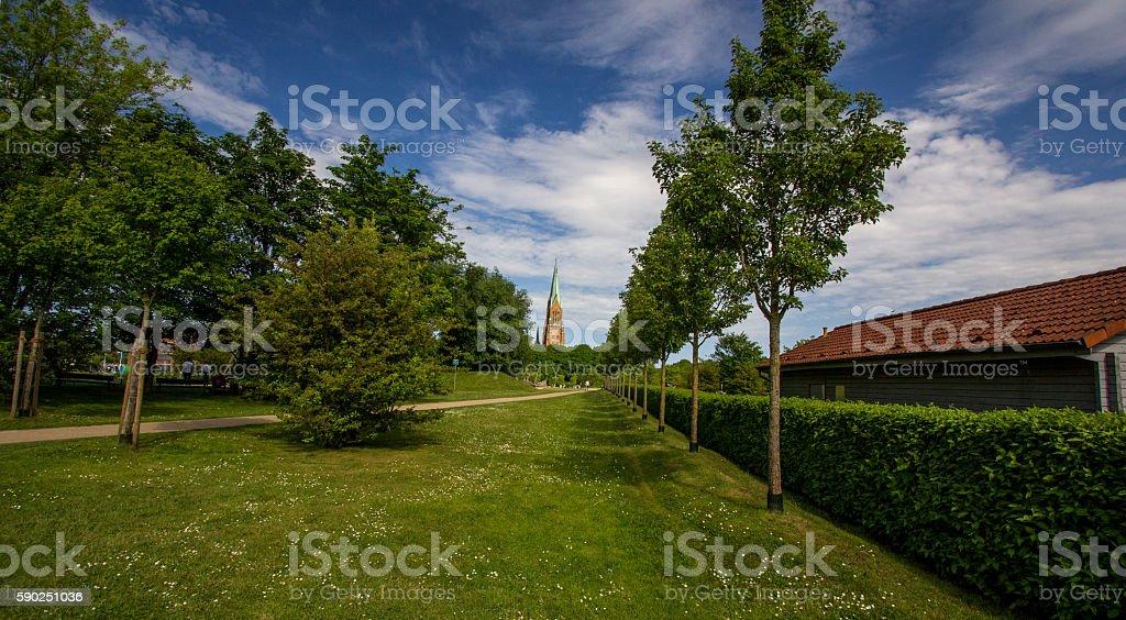 Dom of Schleswig in Schleswig-Holstein! stock photo