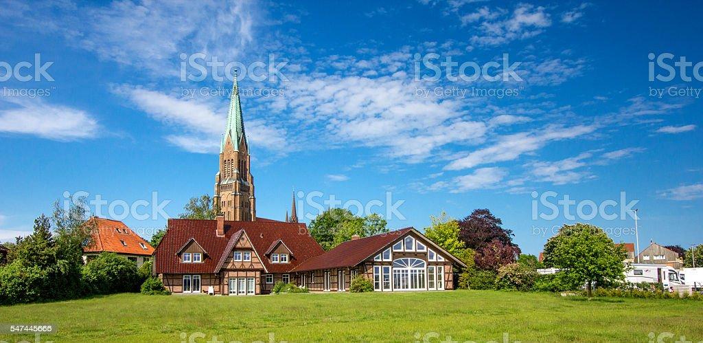 Dom of Schleswig stock photo