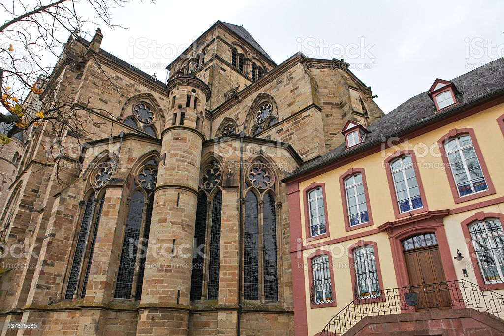 Dom of Trier stock photo