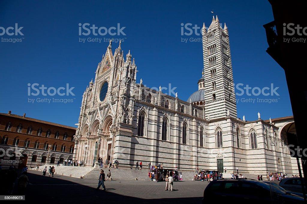 Dom zu Siena stock photo