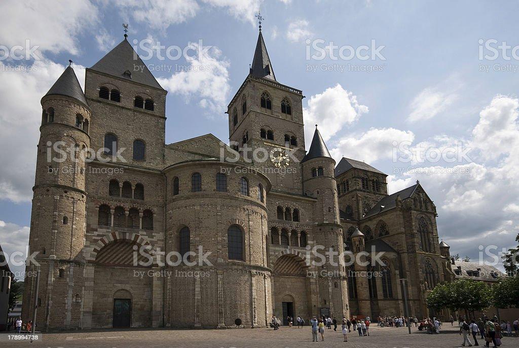 Dom zu Trier stock photo