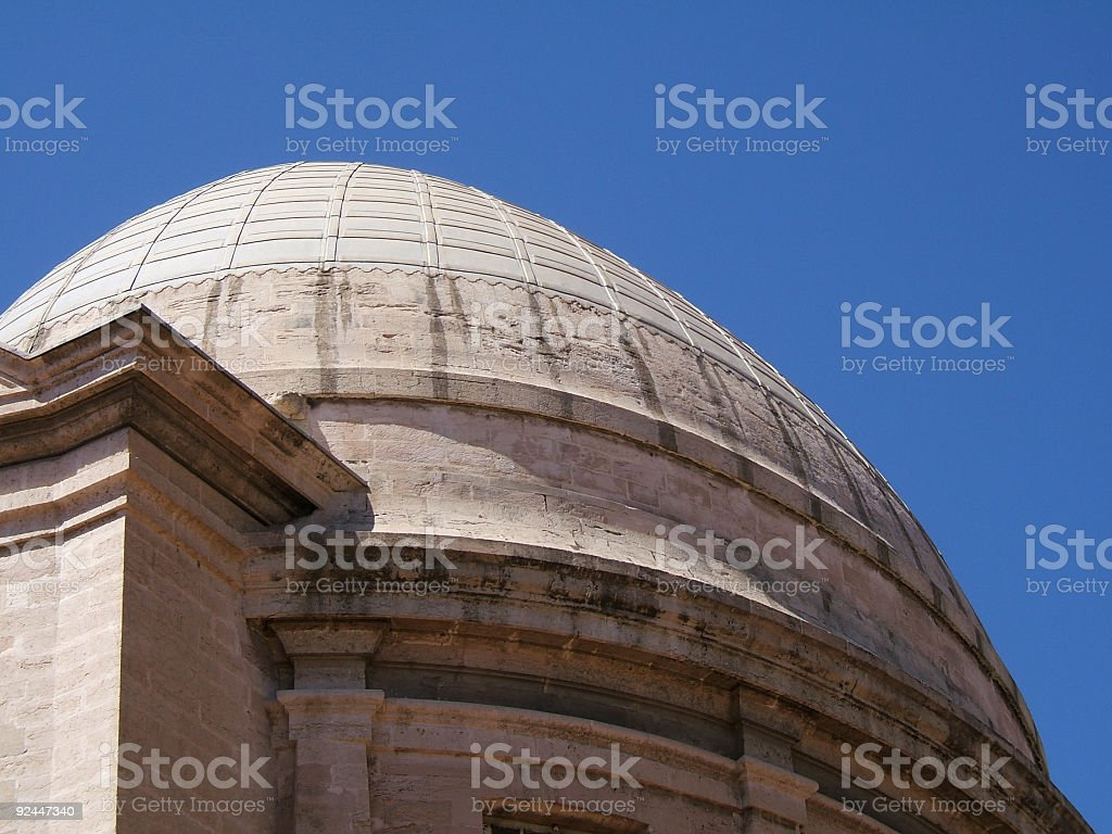 Dome and sky royalty-free stock photo