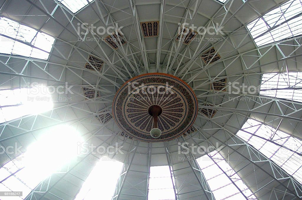 Dome at West Baden Springs, Indiana stock photo