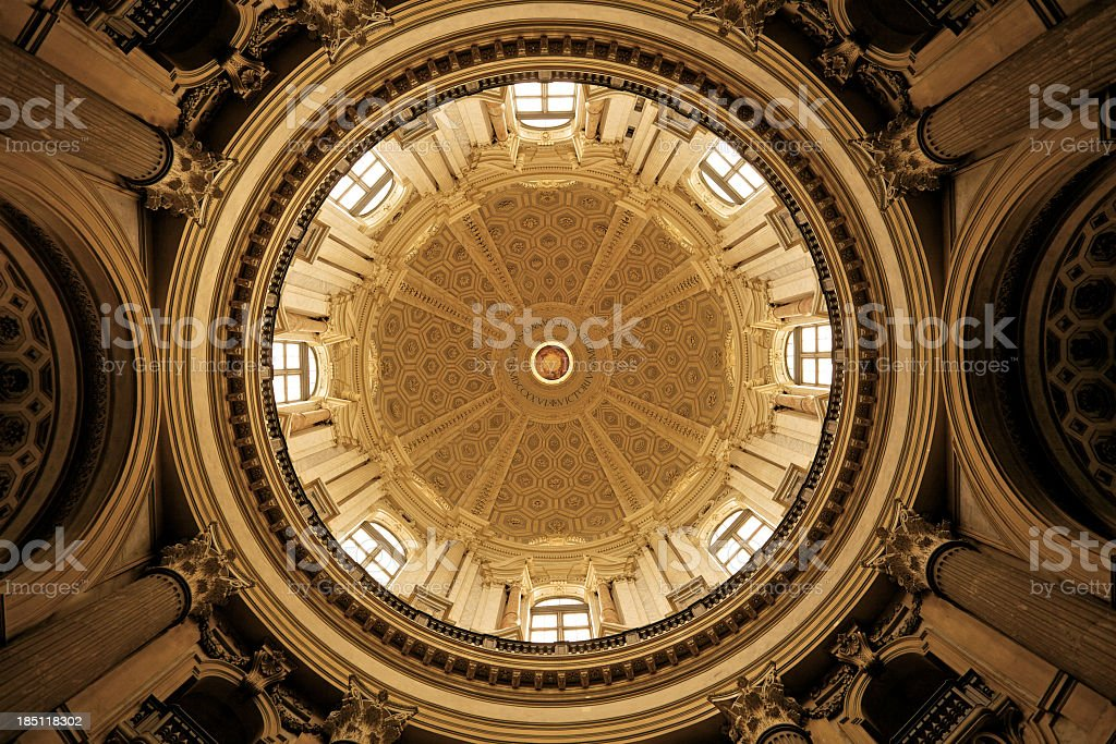 Dome, Basilica di Superga stock photo