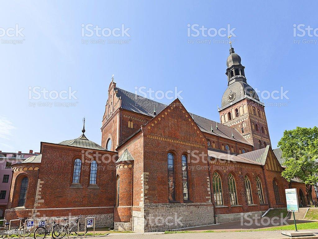 Dome Cathedral (1211), Riga, Latvia stock photo